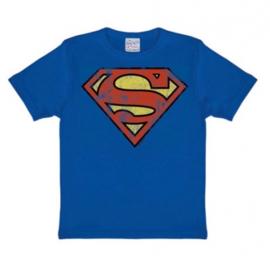 T-Shirt Kids DC - Superman - Azure Blue