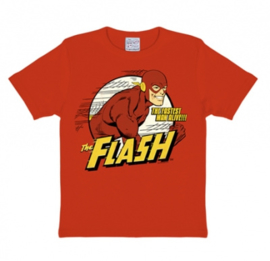 T-Shirt Kids DC - Flash The Fastest Man Alive - Red