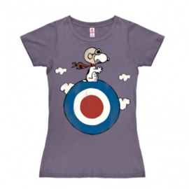 T-Shirt Petite  Peanuts - Snoopy/Target - Lavender