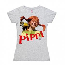 T-Shirt Petite Pippi - Nilsson - Grey Melange