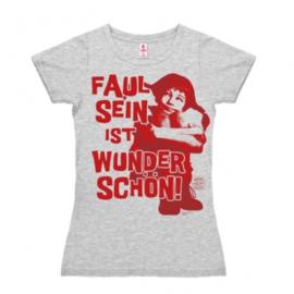 T-Shirt Petite Pippi - Faul Sein - Grey Melange