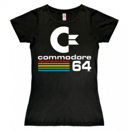 T-Shirt Petite Commodore - C64 - Black