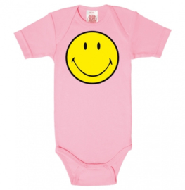 Baby Romper Smiley - Pink
