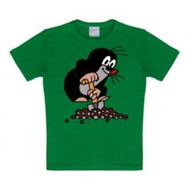 T-Shirt Kids Der Kleine Maulwurf - Green
