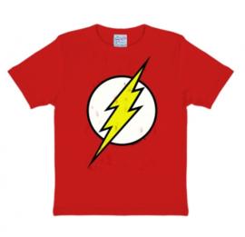 T-Shirt Kids DC - Flash - Logo - Red