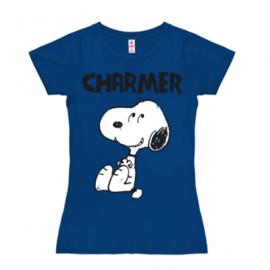 T-Shirt Petite Peanuts - Charmer - Azure Blue