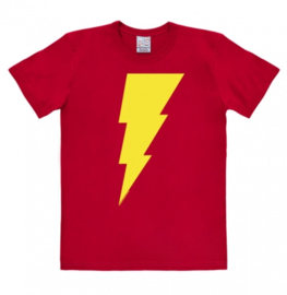 T-Shirt DC - Shazam - Logo - Red