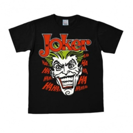 T-Shirt DC - Batman - Joker - Black