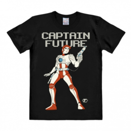 T-Shirt Captain Future - Black