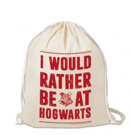 Gym Bag Harry Potter - I Would Rather Be At Hogwarts