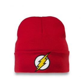 Beanie Adult DC - Flash - Logo - Red