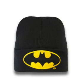 Beanie Adult Batman - Logo - Black