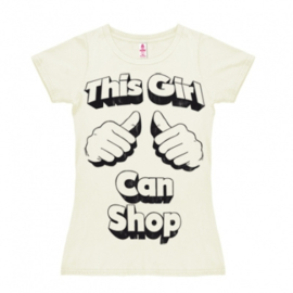 T-Shirt Girls Spoof - This Girl Can Shop