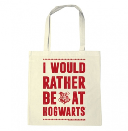 Tote Bag Harry Potter - I Would Rather Be At Hogwarts