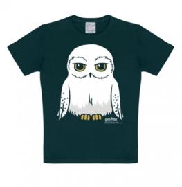 T-Shirt Kids Harry Potter - Hedwig - Black