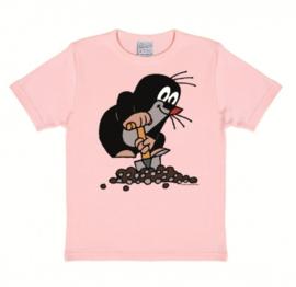 T-Shirt Kids Der Kleine Maulwurf - Pink