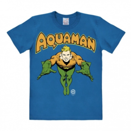 T-Shirt DC - Aquaman - Azure Blue