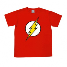 T-Shirt DC - Flash - Logo - Red