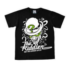 T-Shirt DC - Batman - The Riddler - Black