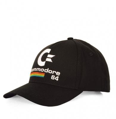 Baseball Cap Adult Commodore - C64 - Black