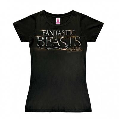 T-Shirt Petite Fantastic Beasts - Logo - Black