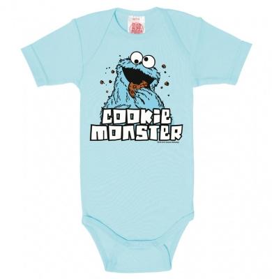 Baby Romper Sesame Street - Cookie Monster