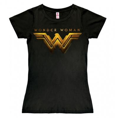 T-Shirt Petite DC - Wonder Woman - Movie - Black