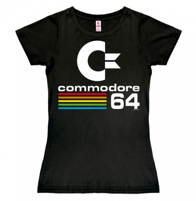 T-Shirt Petite Commodore - C64 - Black