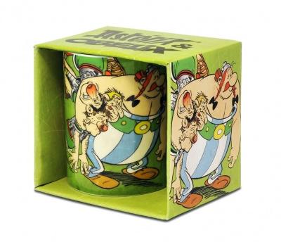 Mug Asterix & Obelix - Green