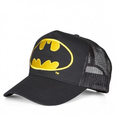 Cap Adult DC - Batman - Logo - Black