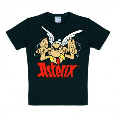 T-Shirt Kids Asterix - Grimace - Black
