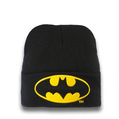 Beanie Adult Batman - Logo - Black