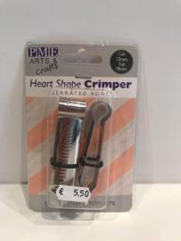 PME Hartjes Crimper - Gekartelde rand - HS340