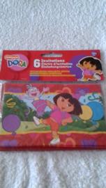 Dora Uitnodigingen - 6 stuks