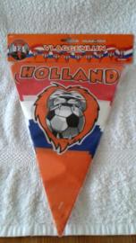 Voetbal Vlaggenlijn Holland House 2 zijden bedrukt