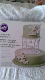 Leaf & Vine Decoratie set Wilton 303-454