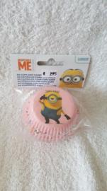 Minions Cupcake vormpjes - 60 stuks