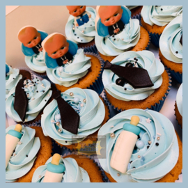 Cupcakes Baby Boss 6 stuks
