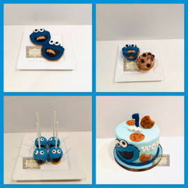 Sweet Table Cookie Monster 10 personen