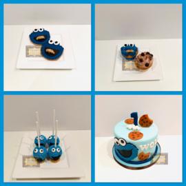 Sweet Table Cookie Monster 10 personen