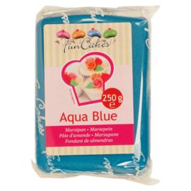 FunCakes Marsepein Blauw -Aqua Blue 250 gram