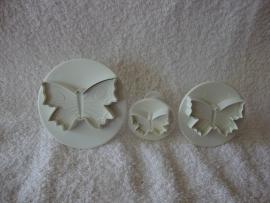 Vlinder Plunger PME - 3 stuks