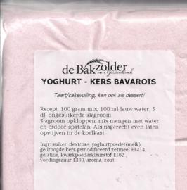 Yoghurt Kers bavarois - De Bakzolder - 100 gram
