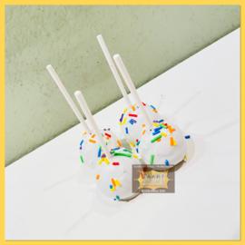Confetti cakepops 4 stuks