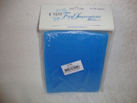 First Impressions siliconen mal Alfabet AL108