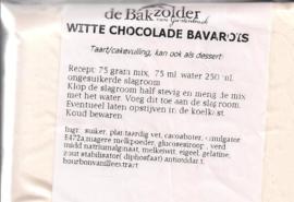 Witte Chocolade bavarois - De Bakzolder - 100 gram