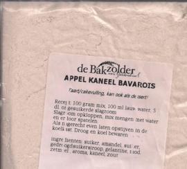Appel kaneel bavarois - De Bakzolder - 100 gram