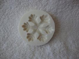 Siliconen mal Städter Sneeuwvlok - 257481 (Frozen)