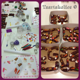 Workshop Chocoladeletters - 2 december  2020 - SINTERKLAAS