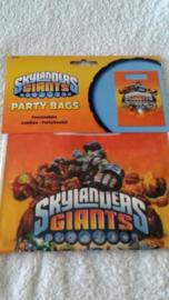 Skylanders Giants feestzakjes - 8 stuks